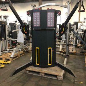 Gymfit dual pulley multi functionele trainer machine