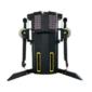 Gymfit dual adjustable pulley multi functionele trainer kabel machine adjustable pulley